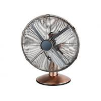 12 Oscillation Metal Tabletop Fan 4 Blades Powerful Oil Rubbed Bronze Color