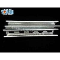 Quality 41x41mm Unistrut Channel , 41X21MM Pre-galvanized / Hot Dipped Slotted Strut Channel for sale