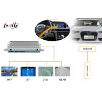 Quality Portable AUDI Automotive Navigation System with DVD , Mirror Link , TV , USB MAP for sale