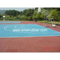 China play area rubber tile on sale