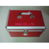 Quality Doctor Metal First Aid Box Multi - Purpose , Light Weight Aluminum Medical Case for sale