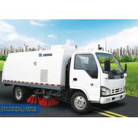 Buy cheap Cleaning Street Sweeper Truck 1000L Special Purpose Vehicles Road Sweeper from wholesalers