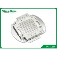 Buy cheap 100W UV Led Curing WITH 45mil Epileds , High Power UV Led Diode product