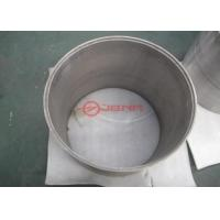 Quality ASTM B760-2007 Tungsten Ground Tube , Large Diameter Round Tungsten Pipe for sale