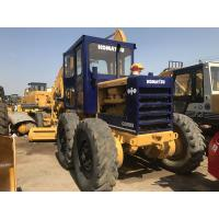 Quality Second Hand Komatsu Small Motor Grader Gd505  With Well Maintenance for sale