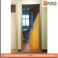 Quality Modern Design Solid Wood Internal Doors High Strength Durable Performance for sale