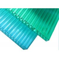 Quality UV Protection Honeycomb Polycarbonate Sheet 1.2g/cm3 Gravity High Light Transmission for sale