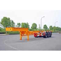 Quality Gooseneck 40ft Container Trailer Chassis , ISO Tank Containers Semi Trailer for sale