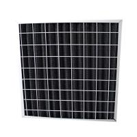Quality Pleated Media Hospital Air Filter Activated Carbon With Polyester Fiber Media for sale