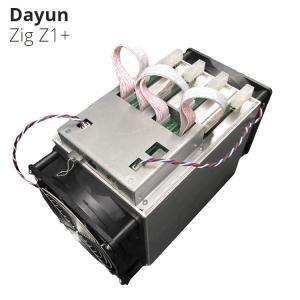 Quality Lyra2Rev2 Algorithm 7.25G/S 1200W DAYUN Z1+ Zig Z1+ Miner Asic Mining Machine for sale