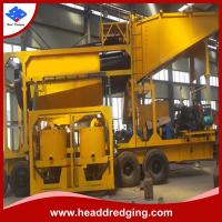 Quality high preformance gold mining trommel equipment with shaing table, centrifugal concentrator, jigger etc for sale