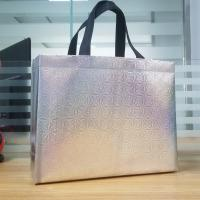 Quality Clothing store, portable gift bag, shopping bag with silver color , custom packaging bag for sale