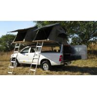 Quality Anti UV 4x4 Camping Tents , Rooftop Pop Up Camper Tent With 2.3m Ladder for sale