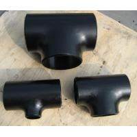Buy cheap butt weld carbon steel pipe tee from wholesalers