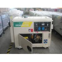 Quality Air-Cooled Portable Diesel Generator 5KW Single Cylinder 60HZ for sale