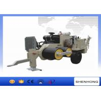 China ISO Cable Tensioner Overhead Line Stringing Equipment 630 MM Bullwheel Bottom on sale