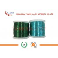 Quality Colored Enamelled Copper Wire , Super Enamel Coated Copper Wire For Precision Resistor for sale