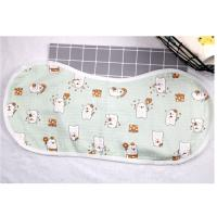 Buy cheap Adjustable Infant Bandana Burp Cloths , Muslin Baby Clothes Bibs Four Layers from wholesalers