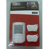 Quality Low Indicator Wireless PIR Motion Sensor Alarms CX - MA90 - I With Two Remote Control for sale