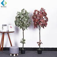 Minimalist Style Artificial Bonsai Tree , Artificial Apple Tree For Living Room for sale