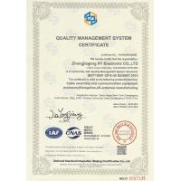 Zhangjiagang RY Electronic CO.,LTD Certifications