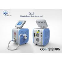 Quality Fast Professional Portable 808nm Diode Laser Permanent Hair Removal Machine Painless for sale