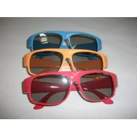 Quality Red Blue Plastic Circular Polarized 3D Glasses ROHS, EN71 for sale