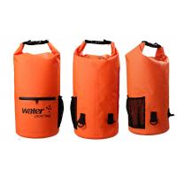 Quality 20l Heavy Duty Dry Storage Bags 0.5mm Thickness With Mesh / Front Zipper Pocket for sale