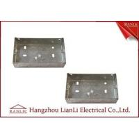 China Custom Outdoor Waterproof Metal Electrical Gang Box Pre Galvanized on sale