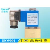 China 2 Port One Way Solenoid Valve , High Pressure 2900 PSI Natural Gas Solenoid Valve on sale