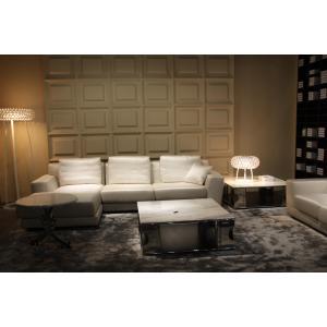 Quality custom modern living room furnitures fabric corner sofa