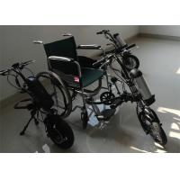 Buy Stainless Frame Electric Wheelchair Conversion Kit With 36V 250W Hub Motor at wholesale prices