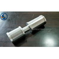 Quality SS Johnson Wedge Wire Screen Nozzle Customize For Client 0.05-1mm Slot Size for sale