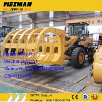 Quality brand new sdlg 958 wheel loader with grass grapple, lg 958 wheel loader, chinese construction from chinese supplier for sale