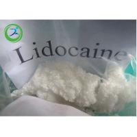 Buy cheap Pain Killer Lidocaine Local anesthetic white powder for relieve 137-58-6 from wholesalers