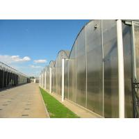 Quality Flower Large Polycarbonate Greenhouse Strong Thermal Insulation Sides Ventilation for sale