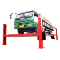 Quality Home Garage Electric Hydraulic Auto Lift 8T , 380V For Heavy Duty Truck for sale