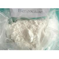 Buy cheap Benzocaine 99.9% USP Pharmaceutical Raw Materials Benzocaine Powder product