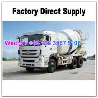 Quality LHD & RHD 6x4 Tri-Ring 375HP 8--12CBM concrete cement mixer truck for Africa for sale
