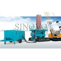 Quality Powered Hydraulic Casing Rotator No Noise With Cummins Engine for sale