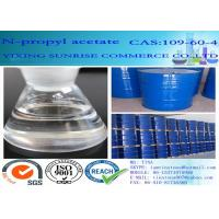 Quality C5H10O2 N Propyl Acetate Paint Dissolving Solvent CAS 109-60-4 102 Molecular Weight for sale
