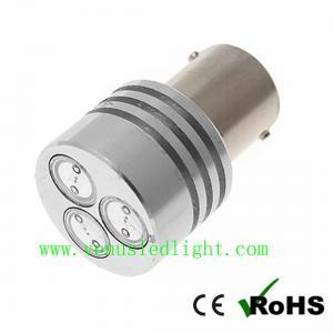 China 1156 3W 3*1W HI POWER LED TURN SIGNAL 3 SMD 3SMD 12V REAR/TAIL LIGHT BULB on sale