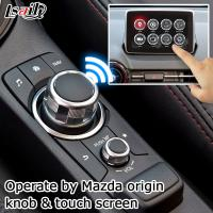 Buy Mazda CX-3 Navigation video interface Android 6.0 Mazda knob control google waze youtube at wholesale prices