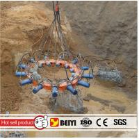 China HOT sale BEIYI new type hydraulic concrete pile cutter pile cropper for sales for excavator or crane on sale