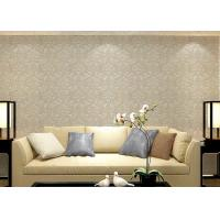 Buy cheap Colorful Floral Non woven European Style Wallpaper room design Wet embossed product