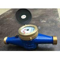 Quality Residential Cold Water Multi Jet Meter Iso4064 Class B With Brass House for sale