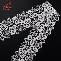 Buy cheap Wholesale Chemical Embroidery Polyester Lace Trim For Clothing Decoration from wholesalers