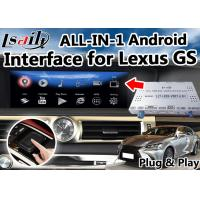 Quality Android 6.0 Navigation Lexus Video Interface for GS Control / Multimedia Video Interface for sale