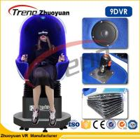 Buy cheap 1.5KW Multiplayer Game Machine 9d Cinema Simulator With 360 Rotating Helmet from wholesalers
