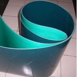 Buy cheap Dark green polyurethane PU conveyor belt smooth surface product